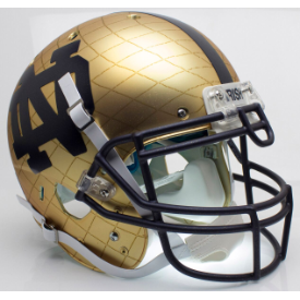 Notre Dame Fighting Irish 2014 Indianapolis Schutt XP Authentic Full Size Football Helmet