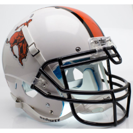 Oklahoma State Cowboys Bucking Cowboy Schutt XP Authentic Full Size Football Helmet