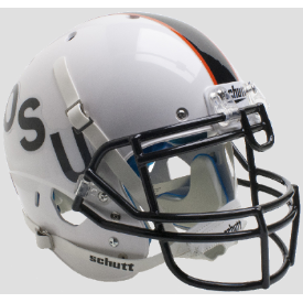 Oklahoma State Cowboys Black OSU Schutt XP Authentic Full Size Football Helmet