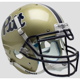 Pittsburgh Panthers Script Schutt XP Authentic Full Size Football Helmet