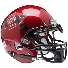 San Diego State Aztecs Schutt XP Authentic Full Size Football Helmet