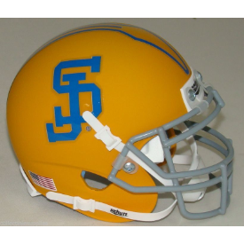 San Jose State Spartans Yellow Schutt XP Authentic Full Size Football Helmet