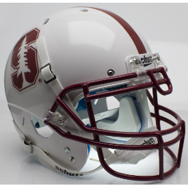 Stanford Cardinal Alt 2015 Schutt XP Authentic Full Size Football Helmet