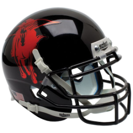 Texas Tech Red Raiders 2013 Holiday Bowl Schutt XP Authentic Full Size Football Helmet