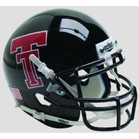 Texas Tech Red Raiders Black Schutt XP Authentic Full Size Football Helmet