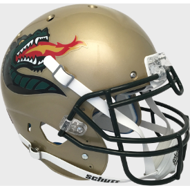 Alabama-Birmingham (UAB) Blazers Gold Schutt XP Authentic Full Size Football Helmet