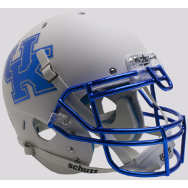 Kentucky Wildcats Matte White Schutt XP Authentic Full Size Football Helmet