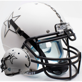 Vanderbilt Commodores Matte White w/Anchor Schutt XP Authentic Full Size Football Helmet