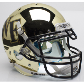 Wake Forest Demon Deacons Chrome Schutt XP Authentic Full Size Football Helmet