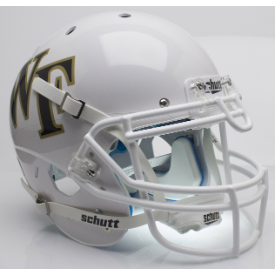 Wake Forest Demon Deacons White Schutt XP Authentic Full Size Football Helmet