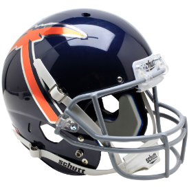 UTEP Miners Navy w/Pickaxe Schutt XP Replica Full Size Football Helmet