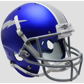 Air Force Falcons Satin Blue Schutt XP Replica Full Size Football Helmet