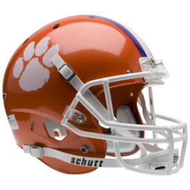 Clemson Tigers Schutt XP Replica Full Size Football Helmet