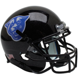 Georgia State Panthers Black Schutt XP Replica Full Size Football Helmet
