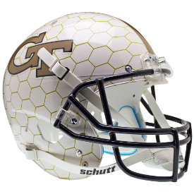 Georgia Tech YellowJackets Honeycomb Schutt XP Replica Full Size Football Helmet