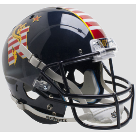Navy Midshipmen Don't Tread On Me Schutt XP Replica Full Size Football Helmet