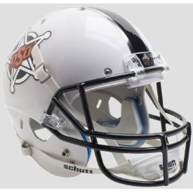 Oklahoma State Cowboys White Badge Schutt XP Replica Full Size Football Helmet