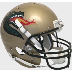 Alabama-Birmingham (UAB) Blazers Gold Schutt XP Replica Full Size Football Helmet