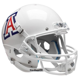 Arizona Wildcats White Schutt XP Replica Full Size Football Helmet