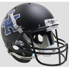 Kentucky Wildcats Matte Black Schutt XP Replica Full Size Football Helmet