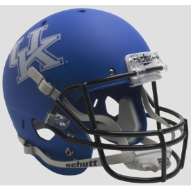 Kentucky Wildcats Matte Royal Schutt XP Replica Full Size Football Helmet