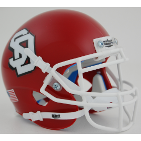 South Dakota Coyotes Schutt XP Authentic Mini Football Helmet