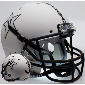 Vanderbilt Commodores Matte White w/Anchor Schutt XP Replica Full Size Football Helmet
