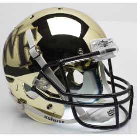 Wake Forest Demon Deacons Chrome Schutt XP Replica Full Size Football Helmet