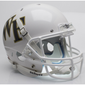 Wake Forest Demon Deacons White Schutt XP Replica Full Size Football Helmet