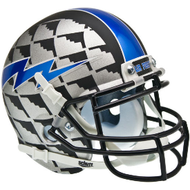 Air Force Falcons Bomber Schutt XP Authentic Mini Football Helmet