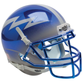 Air Force Falcons Chrome Schutt XP Authentic Mini Football Helmet