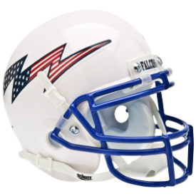 Air Force Falcons Flag Bolt Schutt XP Authentic Mini Football Helmet