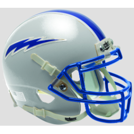 Air Force Falcons Gray Schutt XP Authentic Mini Football Helmet
