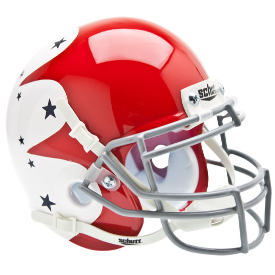 Air Force Falcons Stars Schutt XP Authentic Mini Football Helmet