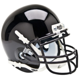 Army Black Knights Black Schutt XP Authentic Mini Football Helmet