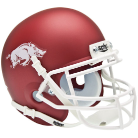 Arkansas Razorbacks Schutt XP Authentic Mini Football Helmet