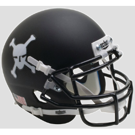 Army Black Knights Matte Black Schutt XP Authentic Mini Football Helmet