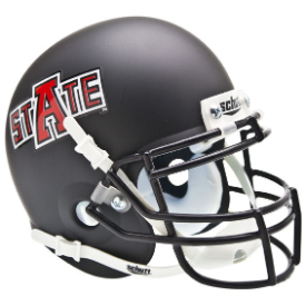 Arkansas State Red Wolves Schutt XP Authentic Mini Football Helmet