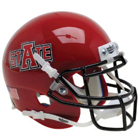 Arkansas State Red Wolves Schutt XP Authentic Mini Football Helmet Red