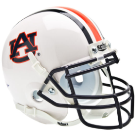 Auburn Tigers Schutt XP Authentic Mini Football Helmet