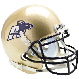 Akron Zips Schutt XP Authentic Mini Football Helmet