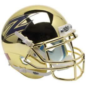 Akron Zips Chrome Schutt XP Authentic Mini Football Helmet