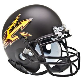 Arizona State Sun Devils Black Schutt XP Authentic Mini Football Helmet