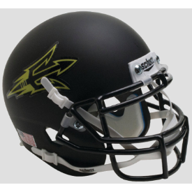 Arizona State Sun Devils Matte Black Small Pitchfork Schutt XP Authentic Mini Football Helmet