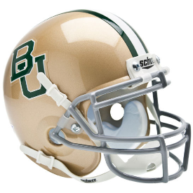 Baylor Bears Schutt XP Authentic Mini Football Helmet