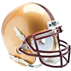 Boston College Golden Eagles Schutt XP Authentic Mini Football Helmet