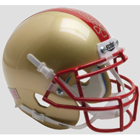 Boston College Golden Eagles Ireland Stripe Schutt XP Authentic Mini Football Helmet