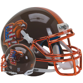 Bowling Green Falcons Patriotic Schutt XP Authentic Mini Football Helmet