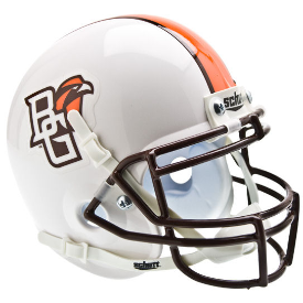 Bowling Green Falcons White Schutt XP Authentic Mini Football Helmet