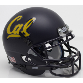 California (CAL) Golden Bears Schutt XP Authentic Mini Football Helmet